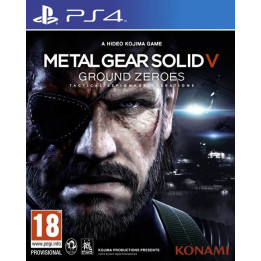 Coperta METAL GEAR SOLID 5 GROUND ZEROES - PS4