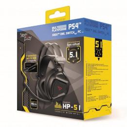 Coperta STEELPLAY - WIRED HEADSET 5.1 VIRTUAL SOUND - HP51 - BLACK (MULTI)