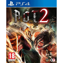 Coperta ATTACK ON TITAN 2 - PS4