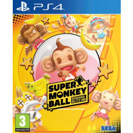 Coperta SUPER MONKEY BALL BANANA BLITZ - PS4