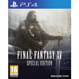 Coperta FINAL FANTASY XV STEELBOOK EDITION - PS4