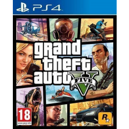 Coperta GRAND THEFT AUTO 5 - PS4