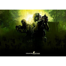 Coperta COUNTER-STRIKE GLOBAL OFFENSIVE GREEN POSTER