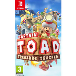 Coperta CAPTAIN TOAD TREASURE TRACKER - SW