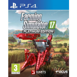 Coperta FARMING SIMULATOR 17 PLATINUM EDITION - PS4
