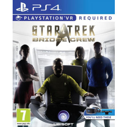 Coperta STAR TREK BRIDGE CREW (VR) - PS4