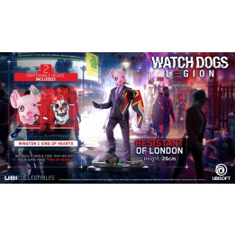 Coperta WATCH DOGS LEGION RESISTANT OF LONDON FIGURINE