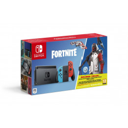 Coperta NINTENDO SWITCH CONSOLE & FORTNITE BUNDLE - GDG