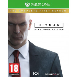 Coperta HITMAN THE COMPLETE FIRST SEASON STEELBOOK EDITION - XBOX ONE