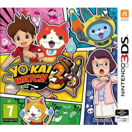Coperta YO-KAI WATCH 3 - 3DS