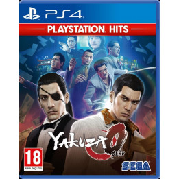 Coperta YAKUZA 0 PLAYSTATION HITS - PS4