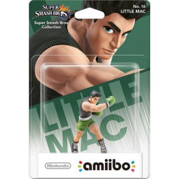 Coperta AMIIBO LITTLE MAC  NO. 16 (SUPER SMASH)