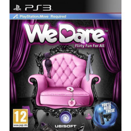 Coperta WE DARE - PS3