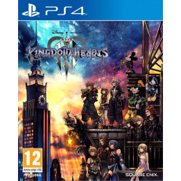 Coperta KINGDOM HEARTS 3 - PS4