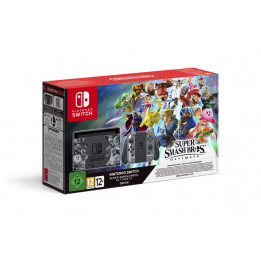 Coperta NINTENDO SWITCH CONSOLE & SUPER SMASH ULTIMATE BUNDLE - GDG