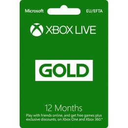 Coperta XBOX LIVE GOLD 12 MONTHS MEMBERSHIP - XBOX ONE (MICROSOFT CODE)