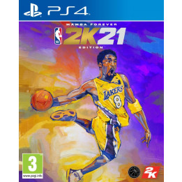 Coperta NBA 2K21 MAMBA FOREVER EDITION - PS4