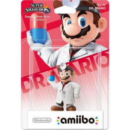 Coperta AMIIBO DR. MARIO NO. 42 (SUPER SMASH)