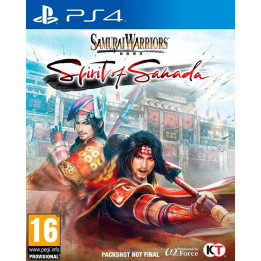 Coperta SAMURAI WARRIORS SPIRIT OF SANADA - PS4