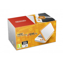 Coperta NINTENDO NEW 2DS XL CONSOLE WHITE & ORANGE - GDG