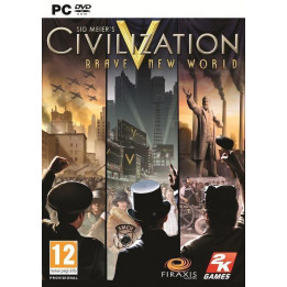 Coperta CIVILIZATION 5 BRAVE NEW WORLD - PC