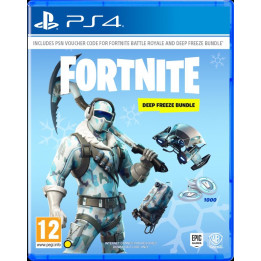 Coperta FORTNITE DEEP FREEZE BUNDLE - PS4