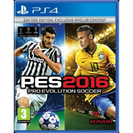 Coperta PRO EVOLUTION SOCCER 2016 D1 EDITION - PS4