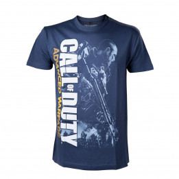 Coperta CALL OF DUTY ADVANCED WARFARE SOLDIER BLUE TSHIRT L