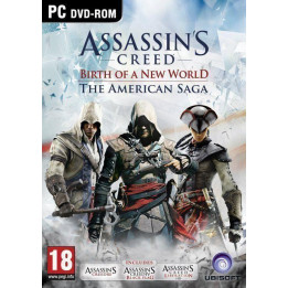 Coperta ASSASSINS CREED AMERICAN SAGA - PC