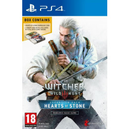 Coperta THE WITCHER 3 WILD HUNT HEARTS OF STONE (EXPANSION PACK) - PS4