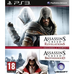 Coperta COMPILATION ASSASSINS CREED REVELATIONS & ASSASSINS CREED BROTHERHOOD - PS3
