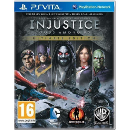 Coperta INJUSTICE GODS AMONG US ULTIMATE EDITION - PSV