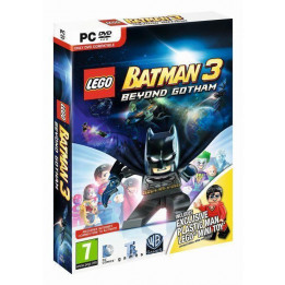 Coperta LEGO BATMAN 3 BEYOND GOTHAM TOY EDITION - PC