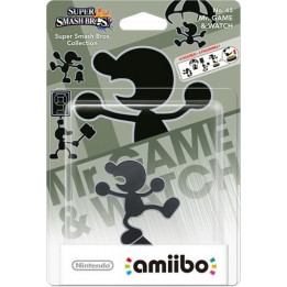 Coperta AMIIBO MR.GAME&WATCH NO. 45 (SUPER SMASH)