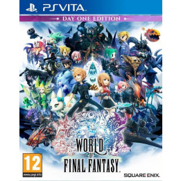 Coperta WORLD OF FINAL FANTASY - PSV