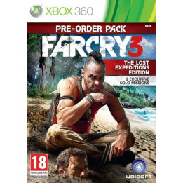 Coperta FAR CRY 3 THE LOST EXPEDITIONS EDITION - XBOX360