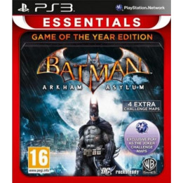 Coperta BATMAN ARKHAM ASYLUM GOTY PS3 ESSENTIALS - PS3