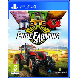 Coperta PURE FARMING 18 - PS4