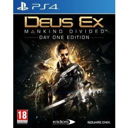 Coperta DEUS EX MANKIND DIVIDED D1 EDITION - PS4