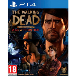 Coperta TELLTALE THE WALKING DEAD A NEW FRONTIER - PS4