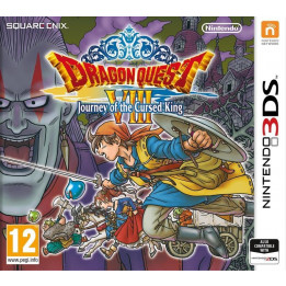 Coperta DRAGON QUEST VIII JOURNEY OF THE CURSED KING - 3DS