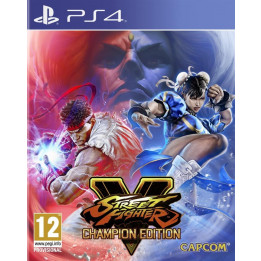 Coperta STREET FIGHTER 5 CHAMPION EDITION - PS4