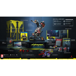 Coperta CYBERPUNK 2077 COLLECTORS EDITION - PS4