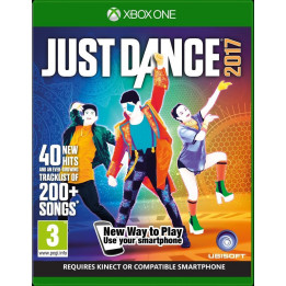 Coperta JUST DANCE 2017 - XBOX ONE