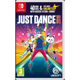 Coperta JUST DANCE 2018 - SW