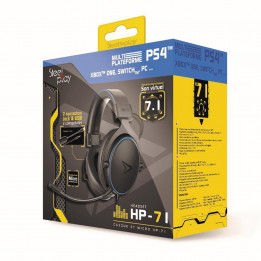 Coperta STEELPLAY - WIRED HEADSET HP71 (MULTI)