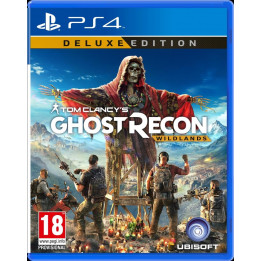 Coperta GHOST RECON WILDLANDS DELUXE EDITION - PS4