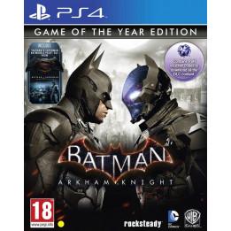 Coperta BATMAN ARKHAM KNIGHT GOTY STEELBOOK EDITION - PS4