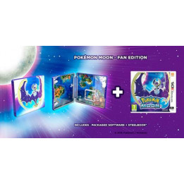 Coperta POKEMON MOON STEELBOOK - 3DS