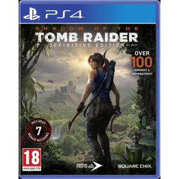 Coperta SHADOW OF THE TOMB RAIDER DEFINITIVE EDITION - PS4